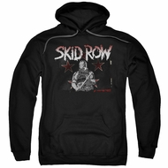 Skid Row Hoodie Unite World Rebellion Black Sweatshirt Hoody