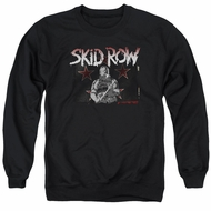 Skid Row Sweatshirt Unite World Rebellion Adult Black Sweat Shirt
