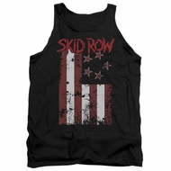 Skid Row Tank Top Flagged Black Tanktop
