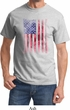 Skull in American Flag Shirt