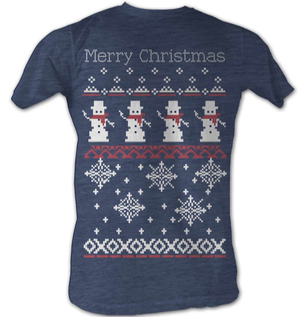 Snowman t shirt sweater christmas holiday adult