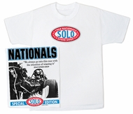 Solo Speed Shop T-Shirt - 1968 Nationals Classic Car Adult Tee Shirt