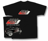 Solo Speed Shop T-Shirt - '32 Ford Classic Adult Black Tee Shirt