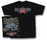 Solo Speed Shop T-Shirt - Speed Haulin Classic Car Adult Tee Shirt
