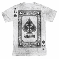 Sons Of Anarchy SOA Ace Of Spades Sublimation Shirt