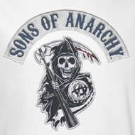 Sons Of Anarchy SOA Bloody Sickle Shirts