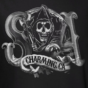 Sons Of Anarchy SOA Charming Ca Shirts