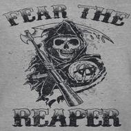 Sons Of Anarchy SOA Fear The Reaper Shirts