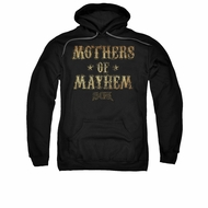 Sons Of Anarchy SOA Hoodie Mothers Of Mayhem Black Sweatshirt Hoody