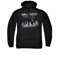 Sons Of Anarchy SOA Hoodie Sweatshirt Rolling Deep Black Adult Hoody Sweat Shirt