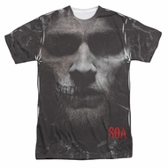 Sons Of Anarchy SOA Jax Skull Sublimation Shirt