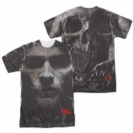 Sons Of Anarchy SOA Jax Skull Sublimation Shirt Front/Back Print