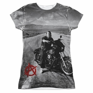 Sons Of Anarchy SOA Open Road Sublimation Juniors Shirt