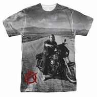 Sons Of Anarchy SOA Open Road Sublimation Shirt
