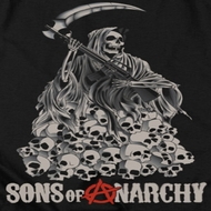 Sons Of Anarchy SOA Pile Of Skulls Shirts