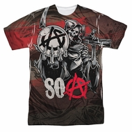 Sons Of Anarchy SOA Reaper Ball Sublimation Shirt