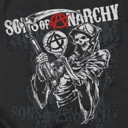 Sons Of Anarchy SOA Reaper Logo Shirts
