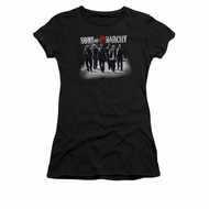 Sons Of Anarchy Shirt Juniors Rolling Deep Black Tee T-Shirt