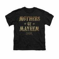 Sons Of Anarchy Shirt Kids Mothers Of Mayhem Black T-Shirt