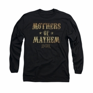Sons Of Anarchy Shirt Mothers Of Mayhem Long Sleeve Black Tee T-Shirt