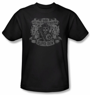 Sons Of Anarchy Shirt Original Reaper Crew Adult Black Tee T-Shirt