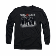 Sons Of Anarchy Shirt Rolling Deep Long Sleeve Black Tee T-Shirt