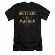 Sons Of Anarchy Shirt Slim Fit Mothers Of Mayhem Black T-Shirt