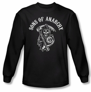 Sons Of Anarchy Shirt Soa Reaper Long Sleeve Black Tee T-Shirt
