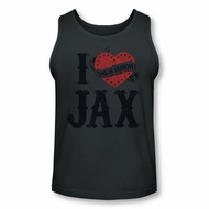 Sons Of Anarchy Shirt Tank Top I Heart Jax Charcoal Tanktop