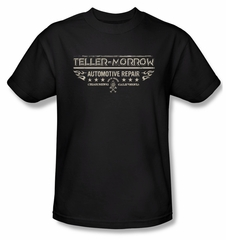 Sons Of Anarchy Shirt Teller Morrow Adult Black Tee T-Shirt