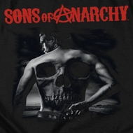 Sons Of Anarchy Skull Back Shirts