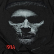 Sons Of Anarchy Skull Face Shirts