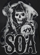 Sons Of Anarchy Smokey Reaper Shirts