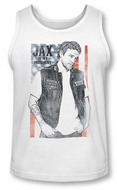 Sons Of Anarchy Tank Top Jax President White Tanktop