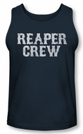 Sons Of Anarchy Tank Top Reaper Crew Navy Tanktop