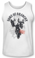 Sons Of Anarchy Tank Top Reapers Ride White Tanktop