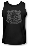 Sons Of Anarchy Tank Top Shirt Original Reaper Crew Black Tanktop