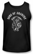 Sons Of Anarchy Tank Top Shirt Soa Reaper Black Tanktop