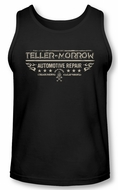 Sons Of Anarchy Tank Top Shirt Teller Morrow Black Tanktop