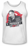 Sons Of Anarchy Tank Top Vice President White Tanktop