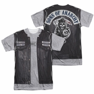 Sons Of Anarchy Unholy Costume Sublimation Shirt Front/Back Print