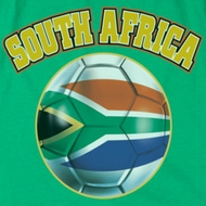 South Africa Soccer Futbol Shirts
