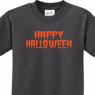 Spooky Happy Halloween Kids Shirts