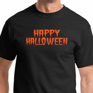 Spooky Happy Halloween Mens Shirts