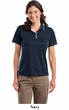 Sport Tek Ladies Polo Shirt Dri Mesh With Tipped Collar and Piping