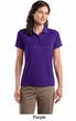 Sport Tek Ladies Polo Shirt Golf Sport Dry Zone Raglan Accent