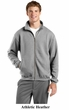 Sport Tek No Hood Full Zip Sweatshirt Fleece