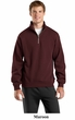 Sport Tek Quarter Zip Sweatshirt Athletic Fleece Sweat Shirt