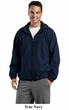 Sport Tek Raglan Jacket Lightweight Hooded Outerwear