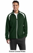 SportTek Tricot Track Jacket Athletic Outerwear